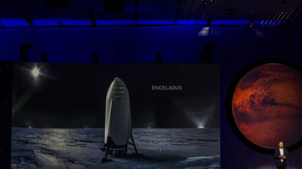 Elon Musk foresees cheap trips to Mars colony