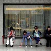 Government data revealed Friday shows Japan's consumption remains weak. | REUTERS