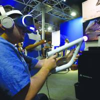 At Tokyo Game Show, virtual technology is the highest scorer