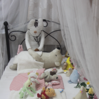 Plenty of rest: Stuffed animals are taken care of in their beds at Nuigurumi Byoin, a 'hospital' that caters to stuffed toys. | KYODO
