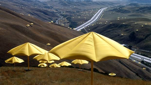 Christo and Jeanne-Claude: The Umbrellas Japan-USA 1984-91 — A Documentation Exhibition