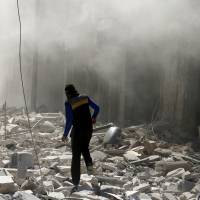 U.S. accuses Russia of 'barbarism' over Aleppo bombardment