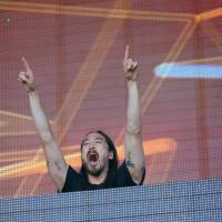 DJ Steve Aoki carved his way to stardom out from under late dad Rocky's shadow