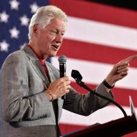 Bill Clinton steps in to campaign for sidelined Hillary