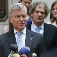 Feds drop bribery case against ex-Virginia Gov. Bob McDonnell