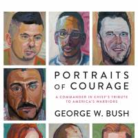 George W. Bush book of paintings coming in February, dedicated to vets