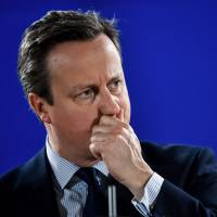 Former British leader Cameron gives up seat in House of Commons