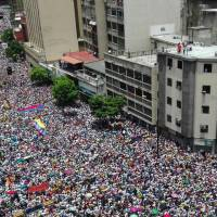 Up to million seen staging Caracas protest to demand president's ouster