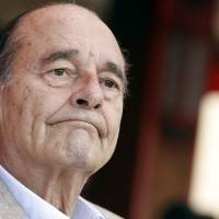 Former French President Jacques Chirac is hospitalized with lung infection