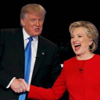 Clinton, Trump battle fiercely over taxes, race, terror and trade in first debate