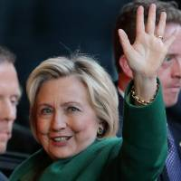 Clinton admits she's not naturally gifted communicator but has ability to engage