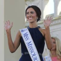 There she is, the first openly gay Miss America contestant