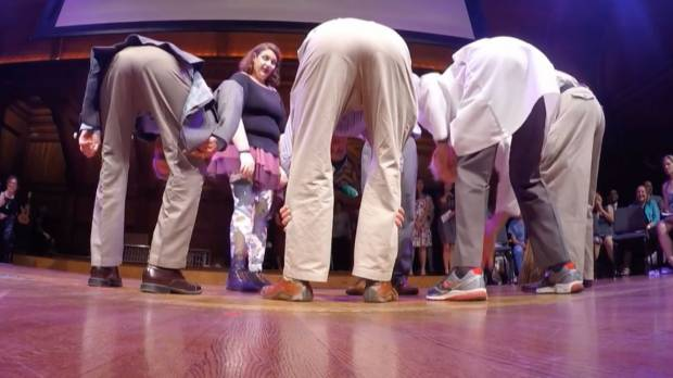 Japanese scientists bend over forward to win an Ig Nobel prize for perception study