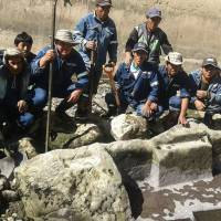 Long-lost Inca altar is found beside river in Peru