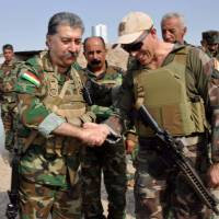 U.S., Europe advisers trained Iran insurgents among Kurds in Islamic State fight