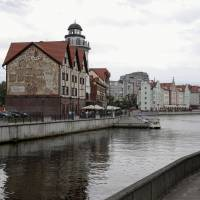 The 'Fishing Village' is an ethnographic, craft and trade center in the Baltic Sea port of Kaliningrad, Russia. | REUTERS