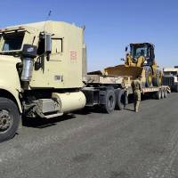 Mustard agent suspected in Islamic State rocket fired at U.S.-occupied staging base near Mosul