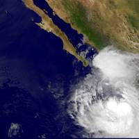 Hurricane Newton bears down on Baja resort beaches