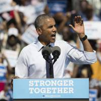 Obama stumps for 'steady' Clinton, terms Trump 'not fit in any way' to lead