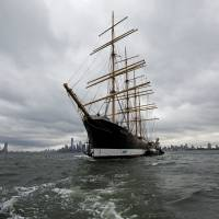 NYC spares historic four-masted bark Peking, will send her back to German birthplace