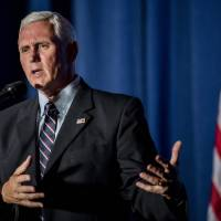 Pence vows to release tax returns next week, says Trump will follow suit someday