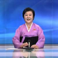 North Korea's star news presenter returns to announce fifth nuclear test