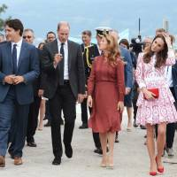Trudeau honeymoon ends as Prince George, 3, snubs his high-five