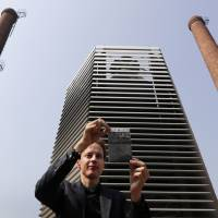 Smog Free Tower opens in pollution-prone Beijing