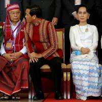 Obama weighs Myanmar sanctions relief ahead of Suu Kyi's visit