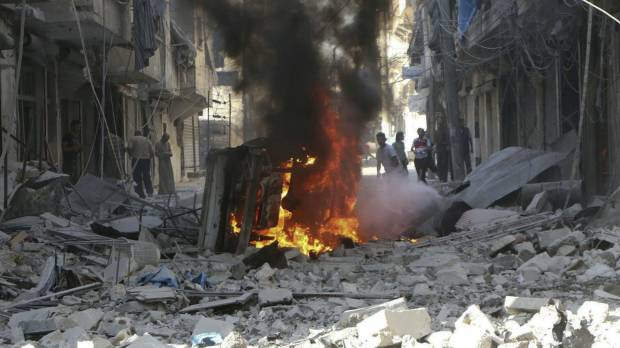 A year of bombing in Syria stirs little debate among Russians