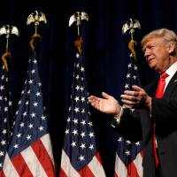 Trump faces national security test with speeches, forum