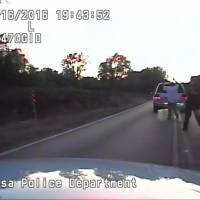 Tulsa police say black man gunned down by cop was unarmed; video shows his hands up