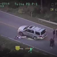 Tulsa policewoman charged with first-degree manslaughter over unarmed black motorist's death