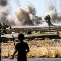 Turkey claims gains against Islamic State in Syria, says Kurds didn't retreat east of Euphrates