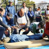 Japan preparing better help for foreign residents and visitors in disasters