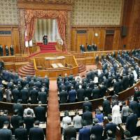 Bills to enable Emperor Akihito to abdicate may be drafted by bipartisan lawmakers rather than the government, in a bid to reflect a broader cross-section of the Japanese people. | KYODO