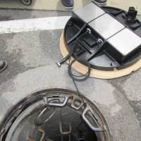 Manhole covers get new mission: predicting floods