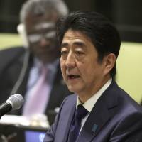 Abe pledges $2.8 billion to promote 'self-reliance' among refugees, vows to take leading role in crisis