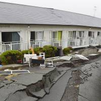 State of roads in event of disaster stokes concern among Japanese