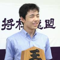 Sota Fujii, a second-year junior high school student from Aichi Prefecture, will become the youngest professional shogi player ever on Oct. 1 at the age of 14 years and 2 months. | KYODO