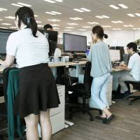 Japan Inc. taking steps to get workers to sit less