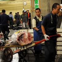 Freezing of Tsukiji relocation plan draws cheers, jeers