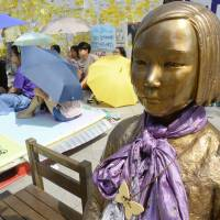 76% of people polled in South Korea oppose removal of 'comfort women' statue in Seoul