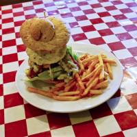 The Panhead's Heaven Saloon: Gigantic burgers fit for a biker