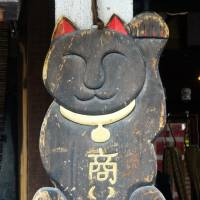 Local businesses celebrate the presence of Naramachi's many felines with cat-themed products, foods and a yearly cat festival. | MANDY BARTOK