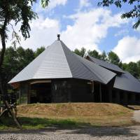 The Afan Woodland Trust's brand-new Doug Joiner Kurohime Horse Lodge. | COURTESY OF AFAN WOODLAND TRUST
