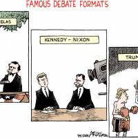 How to debunk the U.S. presidential debates