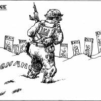 Afghanistan War simmers on