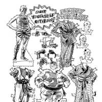 This Chris Mackenzie illustration graced the Feb. 1, 2011, column headlined 'Naturalized Japanese: foreigners no more.'