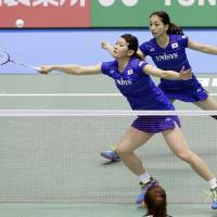 Rio gold medalists Takahashi, Matsutomo advance to quarterfinals at Yonex Open Japan
